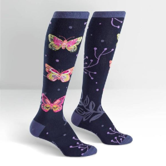 SITM Womens Knee High Funky Socks |sneakersplus.ca