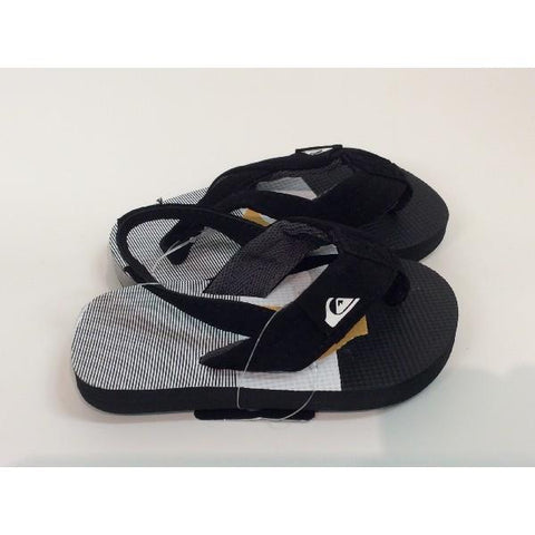 Quiksilver Molokia Layback Toddler Sandal Black |Sneakers Plus
