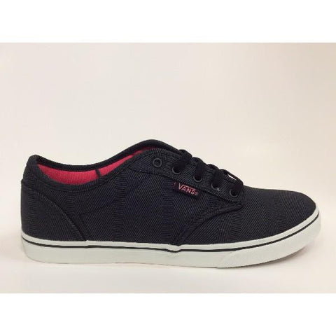 Vans Atwood Low Womens Skate Shoes Black-Pink |Sneakers Plus