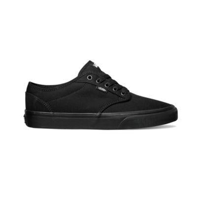 Vans Atwood Mens Skate Shoes Black with Black |Sneakers Plus