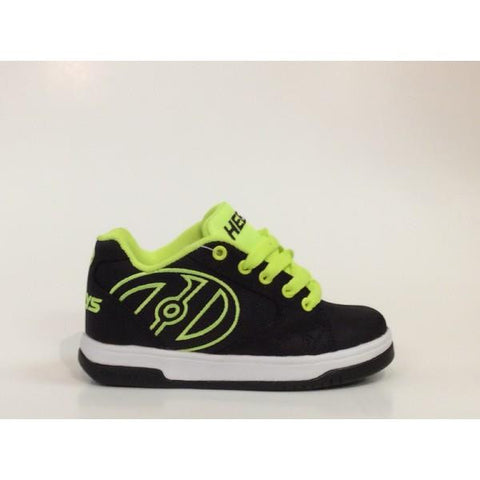 Heelys Propel 2 Kids Heelys Shoes Black-Yellow |Sneakers Plus