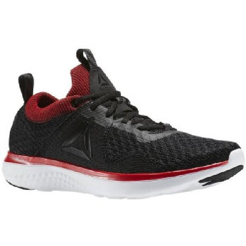 Reebok AstroRide Fire Mens Running Shoe Black-Red |Sneakers Plus