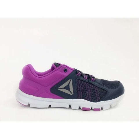 Reebok YourFlex Girls Training Shoe Indigo-Violet |Sneakers Plus