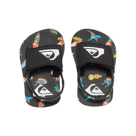 Quiksilver Molokai Toddler Sandals Spaceships | Sneakers Plus