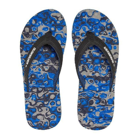 Quiksilver Massage Mens Sandals Blue-Grey | Sneakers Plus