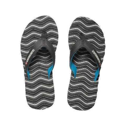Quiksilver Massage Mens Sandals White Wave | Sneakers Plus