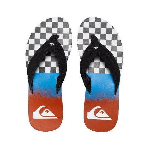 Quiksilver Basis Mens Sandals Blue-Red | Sneakers Plus