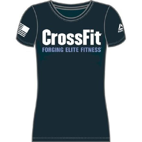 Reebok Crossfit Graphic Tee Women Tshirt |Sneakers Plus