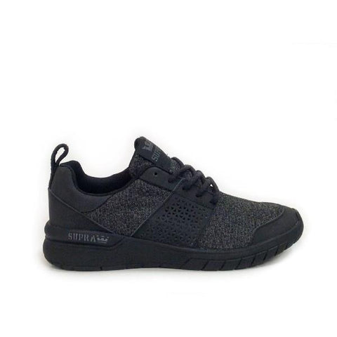 Supra Scissor Womens Skate Shoe Black |Sneakers Plus