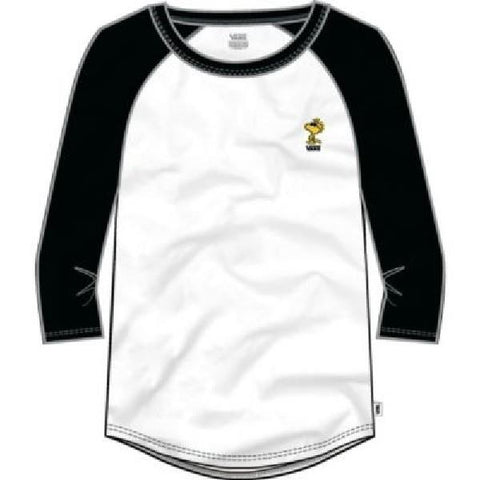 Vans Raglan Womens Tees Woodstock from Peanuts |Sneakers Plus