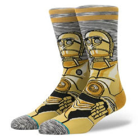 Stance StarWars Mens Socks Android |Sneakers Plus