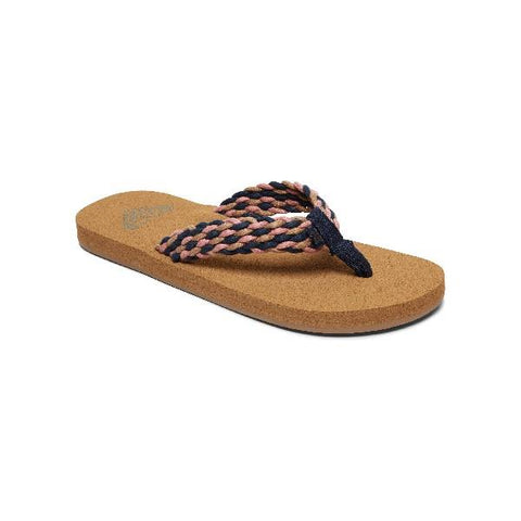 Roxy Porto ll Womens Flip Flops Navy | Sneakers Plus