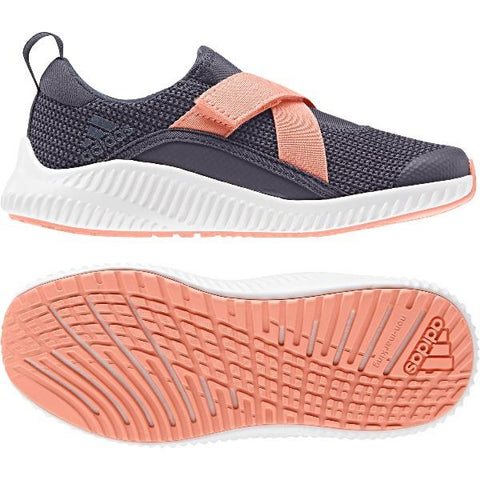 Adidas FortaRun X Girls Running Shoes Navy-Peach |Sneakers Plus
