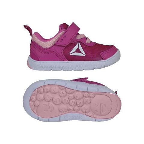 Reebok VentureFlex Stride Toddler Shoes Pink |Sneakers Plus