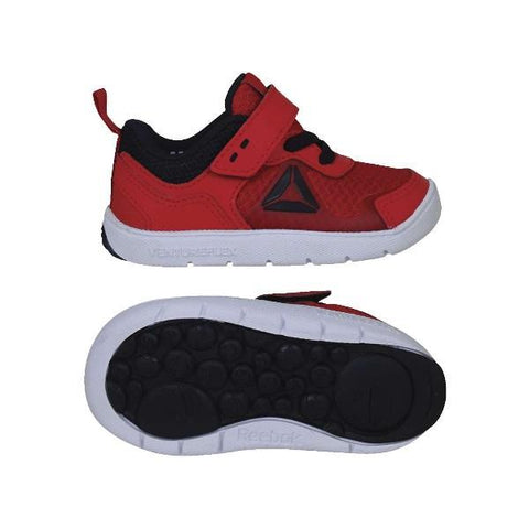 Reebok VentureFlex Stride Toddler Runner Red |Sneakers Plus