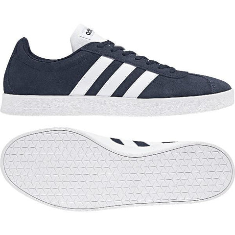 Adidas VL Court Mens Skate Shoe Navy |Sneakers Plus