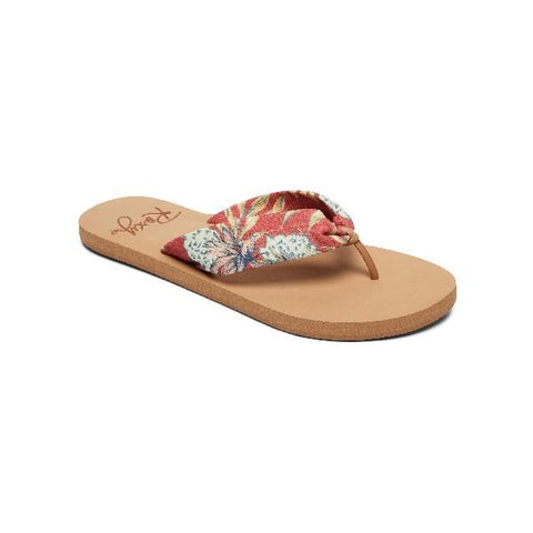 Roxy Paia ll Womens Flip Flops Red |Sneakers Plus