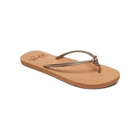 Roxy Lahaina lll Womens Flip Flop Rose Gold | Sneakers Plus