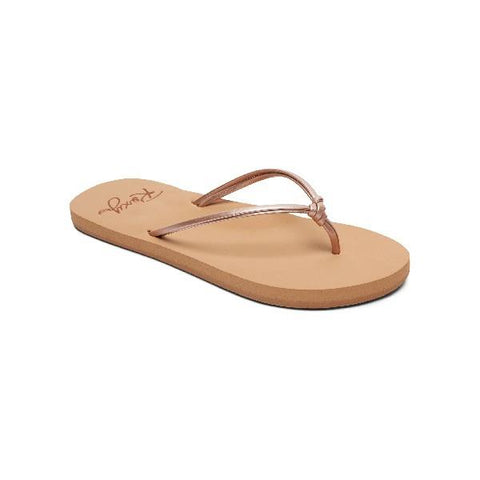 Roxy Lahaina ll Girls Flip Flops Rose Gold |Sneakers Plus