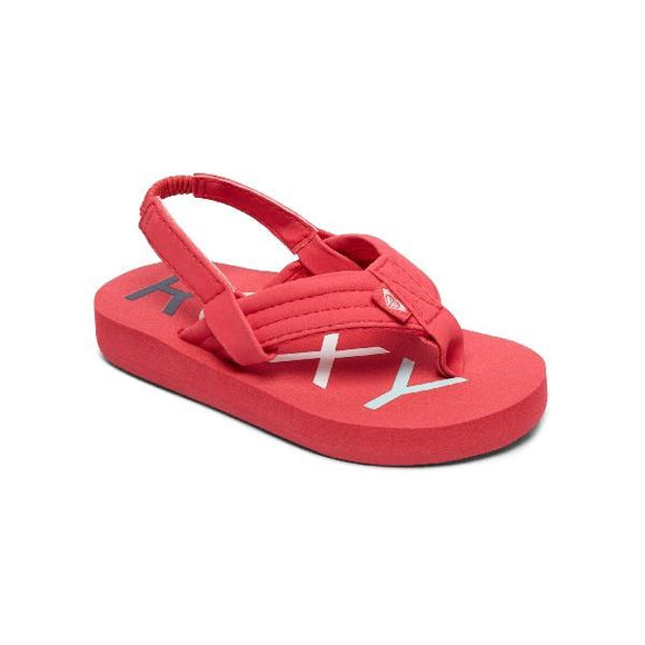 Roxy Vista ll Toddler Flip Flops Berry | Sneakers Plus