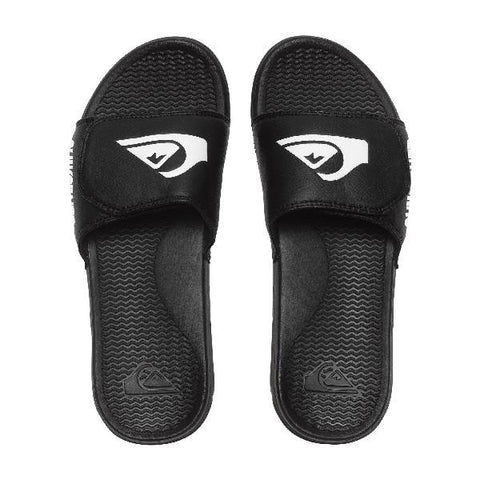 Quiksilver Shoreline Adj Slider Sandals Boys Black | Sneakers Plus