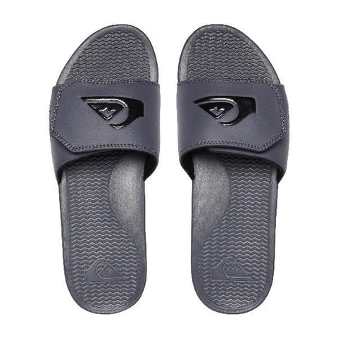 Quiksilver Shoreline Adjt Slide Mens Sandals Grey | Sneakers Plus