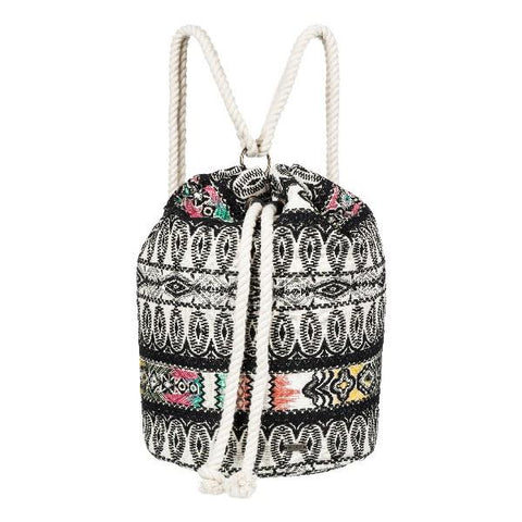 Roxy Supposed To Be Sailor Bucket Bag Black-Cream | Sneakers Plus
