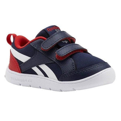 Reebok VentureFlex Toddler Running Shoe Navy-Red | Sneakers Plus