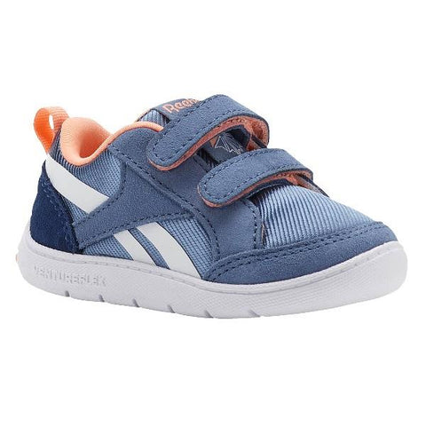 Reebok VentureFlex Toddler Running Shoe Blue-Peach | Sneakers Plus