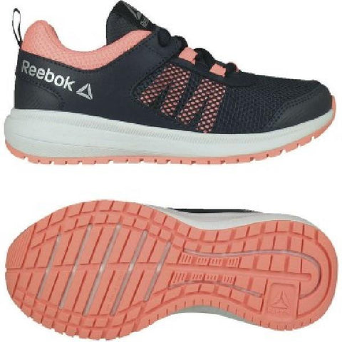 Reebok Road Supreme Girls Running Shoes Navy-Pink | Sneakers Plus