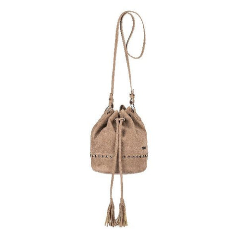 Roxy Hear Me Now Small Bucket Bag Tan | Sneakers Plus