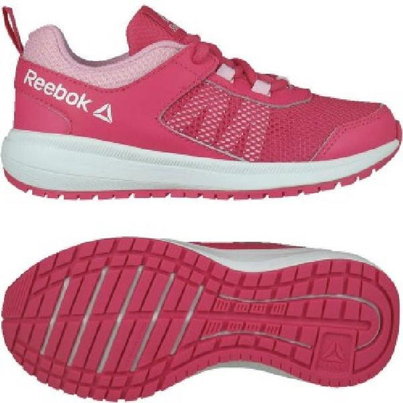 Reebok Road Supreme Girls Running Shoe Pink-White | Sneakers Plus