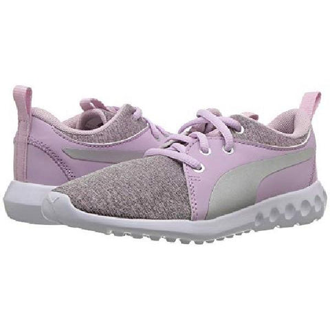 Puma Carson 2 Ribknit Girl Running Shoe Winsome-Orchid| Sneakers Plus