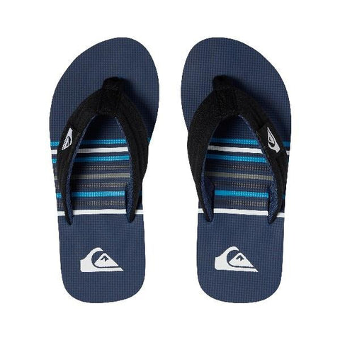 Quiksilver Molokai Layback Boys Sandals Blue Stripe | Sneakers Plus