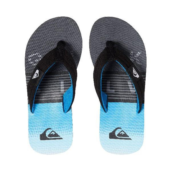Quiksilver Molokai Layback Boys Sandals Blue-Grey | Sneakers Plus