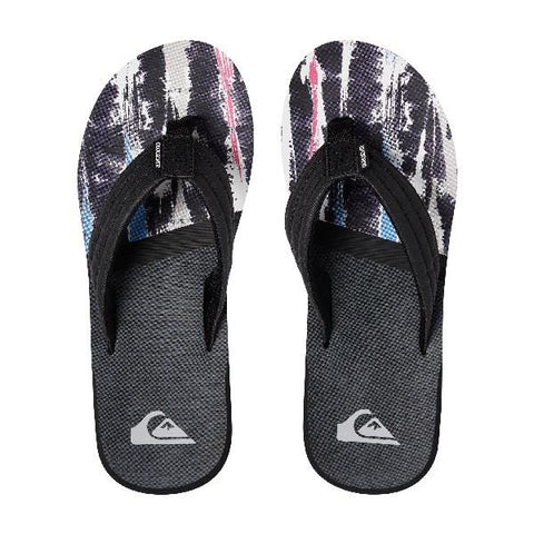 Quiksilver Carver Print Boys Sandal Purple-Pink | Sneakers Plus
