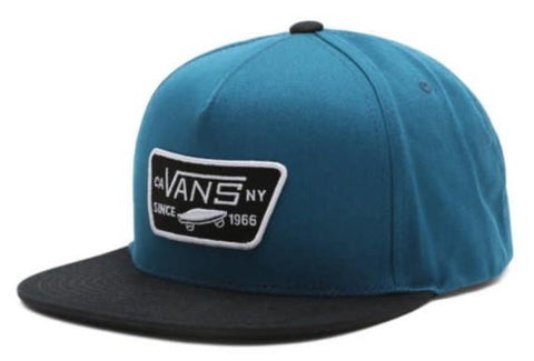 Vans Full Patch Snapback Mens Hat Demitasse | Sneakers Plus