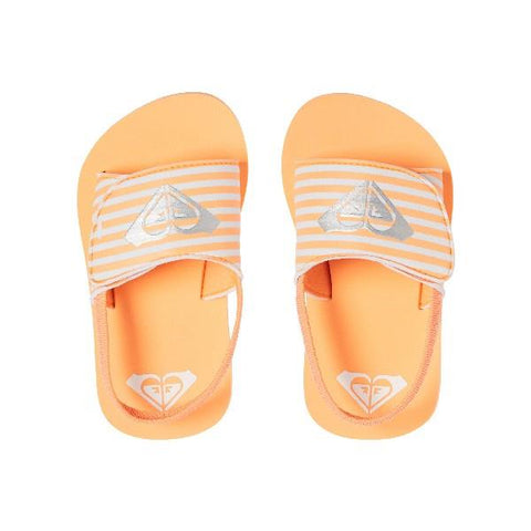 Roxy Finn Toddler Sandal Peach | Sneakers Plus