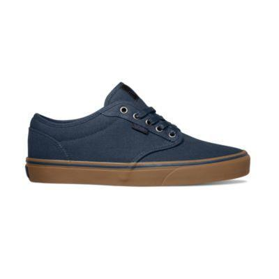 Vans Atwood Mens Skate Shoe Navy-Gum | Sneakers Plus