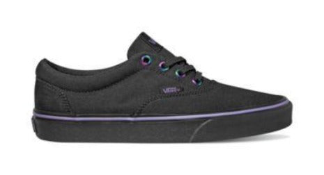 Vans Doheny Womens Skate Shoe Black Iridescent | Sneakers Plus