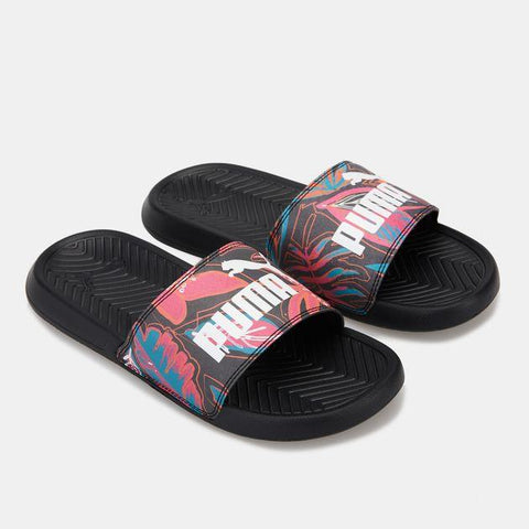 Puma Popcat Flower Power Womens Slides | Sneakers Plus