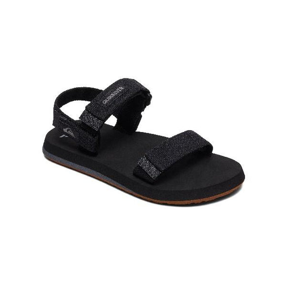 Quiksilver MonkeyCage Boys Sandals Black | Sneakers Plus