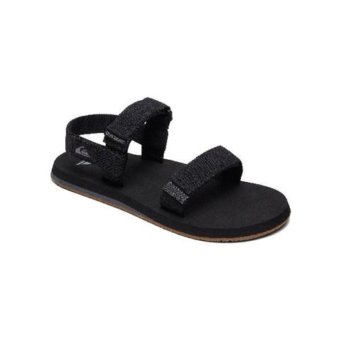 Quiksilver MonkeyCage Mens Sandals Black | Sneakers Plus