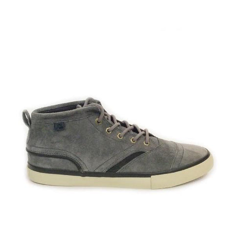 Quiksilver Heyden FG Mens Casual Shoe Gray |Sneakers Plus