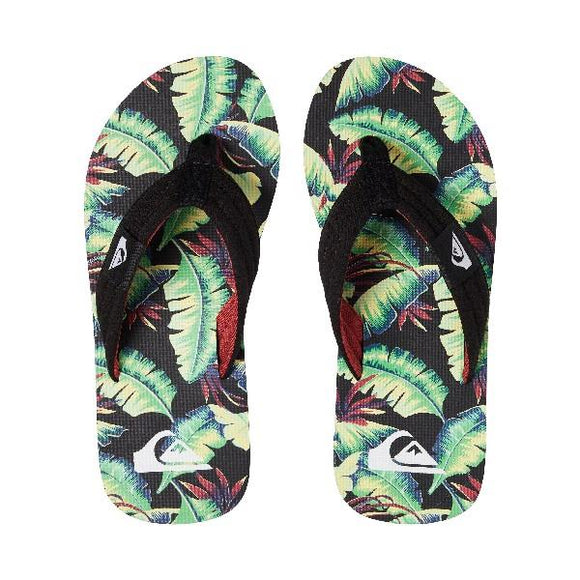 Quiksilver Molokai Layback Boys Sandals Green Jungle | Sneakers Plus