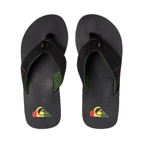 Quiksilver Molokai Abyss Boys Sandals Rasta | Sneakers Plus