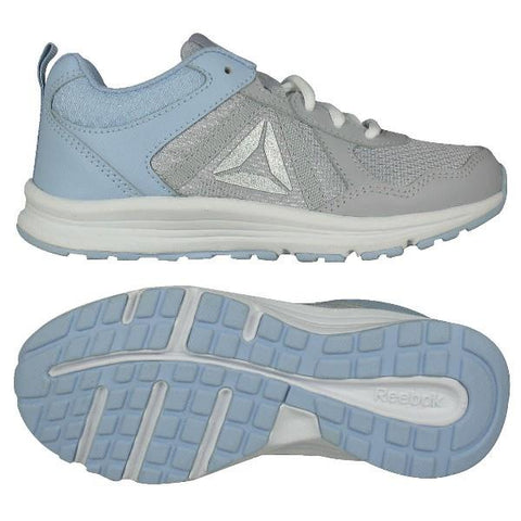 Reebok Almotio 4.0 Girls Running Shoe Grey-Denim | Sneakers Plus