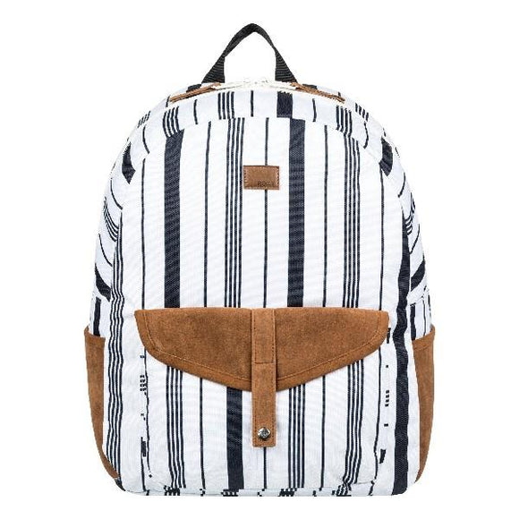 Carribean 18L Medium Backpack for Women Marshmellow-Licorice Stripe | Sneakers Plus