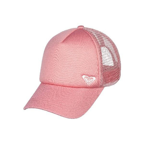 Roxy Finishline Trucker Womens Hat Apricot | Sneakers Plus