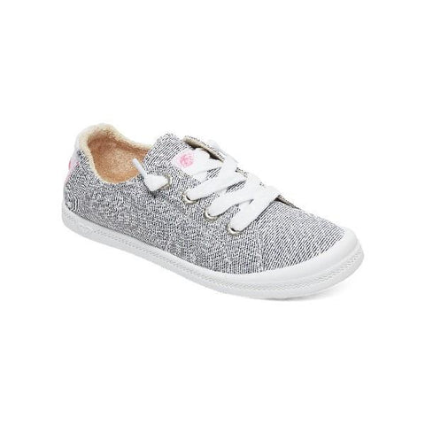 Roxy Bayshore lll Girls Casual Shoes Grey | Sneakers Plus